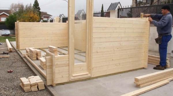 Videos pedro murillo edici n y grabaci n de v deo - Montaje casa de madera ...